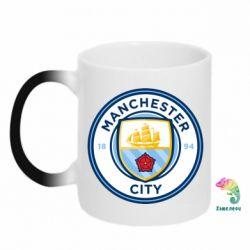 Кружка-хамелеон Manchester City