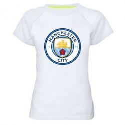 Жіноча спортивна футболка Manchester City