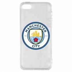 Чохол для iphone 5/5S/SE Manchester City