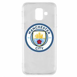 Чохол для Samsung A6 2018 Manchester City