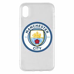 Чохол для iPhone X/Xs Manchester City