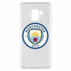 Чохол для Samsung A8 2018 Manchester City