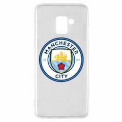 Чохол для Samsung A8+ 2018 Manchester City
