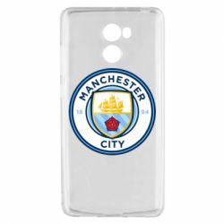 Чехол для Xiaomi Redmi 4 Manchester City