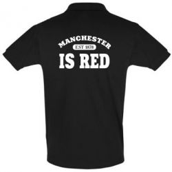 Футболка Поло Manchester is red
