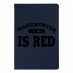 Блокнот А5 Manchester is red