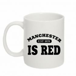 Кружка 320ml Manchester is red