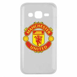 Чохол для Samsung J2 2015 Манчестер Юнайтед