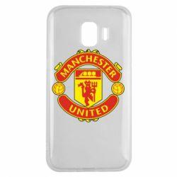 Чохол для Samsung J2 2018 Манчестер Юнайтед
