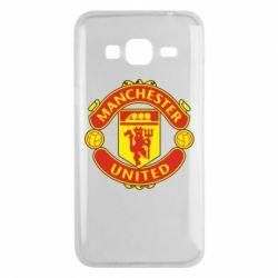 Чохол для Samsung J3 2016 Манчестер Юнайтед