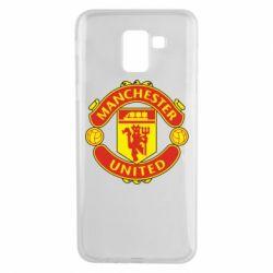 Чохол для Samsung J6 Манчестер Юнайтед