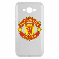Чохол для Samsung J7 2015 Манчестер Юнайтед