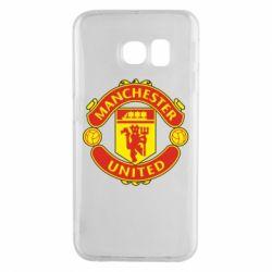 Чохол для Samsung S6 EDGE Манчестер Юнайтед