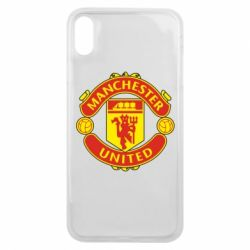 Чохол для iPhone Xs Max Манчестер Юнайтед