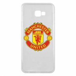 Чохол для Samsung J4 Plus 2018 Манчестер Юнайтед
