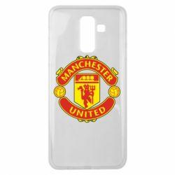Чохол для Samsung J8 2018 Манчестер Юнайтед