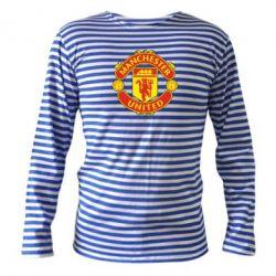 Тельняшка с длинным рукавом Манчестер Юнайтед - FatLine