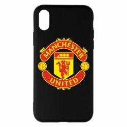 Чохол для iPhone X/Xs Манчестер Юнайтед