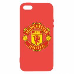 Чохол для iphone 5/5S/SE Манчестер Юнайтед