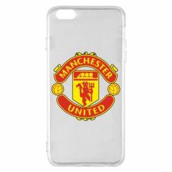 Чохол для iPhone 6 Plus/6S Plus Манчестер Юнайтед
