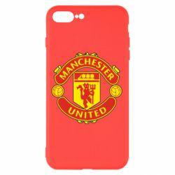Чохол для iPhone 8 Plus Манчестер Юнайтед