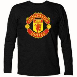 Футболка с длинным рукавом Манчестер Юнайтед - FatLine