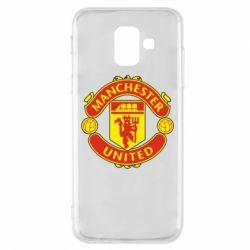 Чохол для Samsung A6 2018 Манчестер Юнайтед