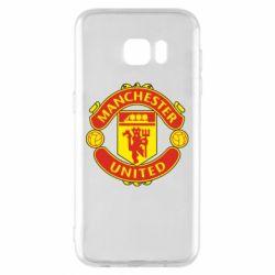Чохол для Samsung S7 EDGE Манчестер Юнайтед