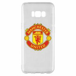 Чохол для Samsung S8+ Манчестер Юнайтед