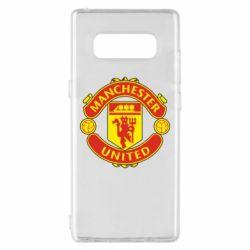 Чохол для Samsung Note 8 Манчестер Юнайтед