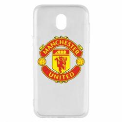 Чохол для Samsung J5 2017 Манчестер Юнайтед