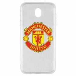 Чохол для Samsung J7 2017 Манчестер Юнайтед