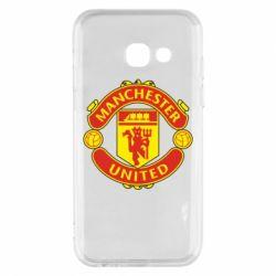 Чохол для Samsung A3 2017 Манчестер Юнайтед