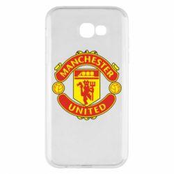Чохол для Samsung A7 2017 Манчестер Юнайтед