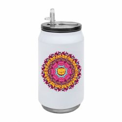 Термобанка 350ml Mandala Cats