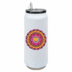 Термобанка 500ml Mandala Cats