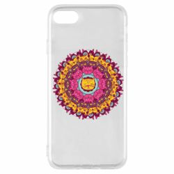 Чехол для iPhone 7 Mandala Cats