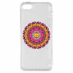 Чехол для iPhone5/5S/SE Mandala Cats