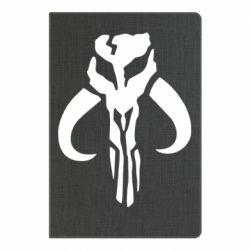 Блокнот А5 Mandalorian emblem