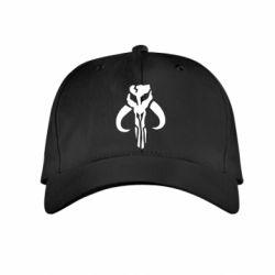 Детская кепка Mandalorian emblem