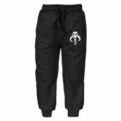 Детские штаны Mandalorian emblem