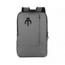 Рюкзак для ноутбука Mandalorian emblem