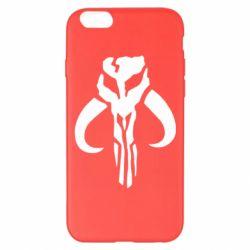 Чехол для iPhone 6 Plus/6S Plus Mandalorian emblem