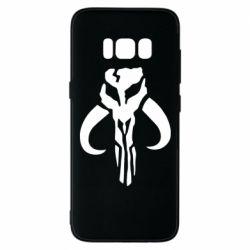 Чехол для Samsung S8 Mandalorian emblem