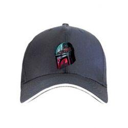 Кепка Mandalorian Helmet profil