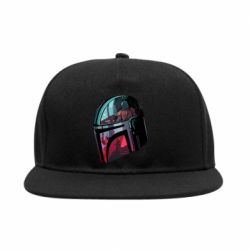 Снепбек Mandalorian Helmet profil