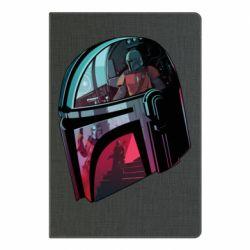 Блокнот А5 Mandalorian Helmet profil