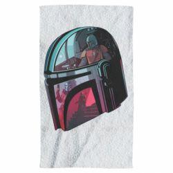 Полотенце Mandalorian Helmet profil