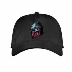 Детская кепка Mandalorian Helmet profil