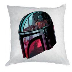 Подушка Mandalorian Helmet profil